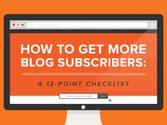 12 Keys to Increasing Blog Subscribers