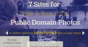 7 Public Domain Sites for Finding Free Images