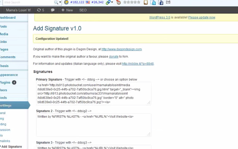 How To Add A Signature To Blog Posts
