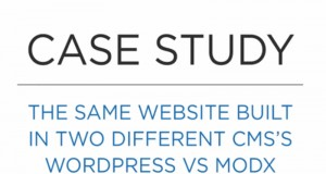 MODx vs WordPress