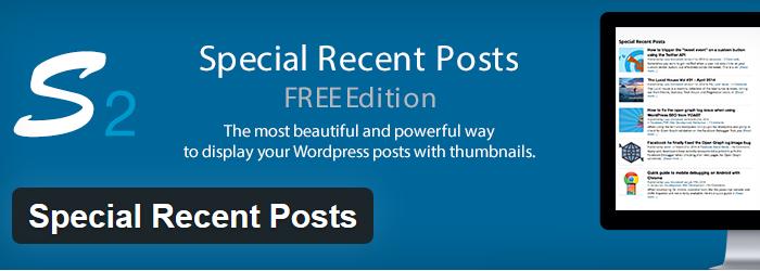 Special Recent Posts