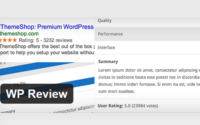 The Best Free Wordpress Reviews Plugins