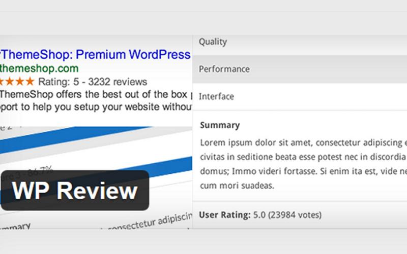 The Best Free Wordpress Reviews Plugins