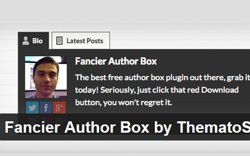 6 Best Free Wordpress Author Plugins
