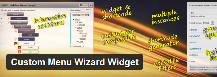 Custom Menu Wizard