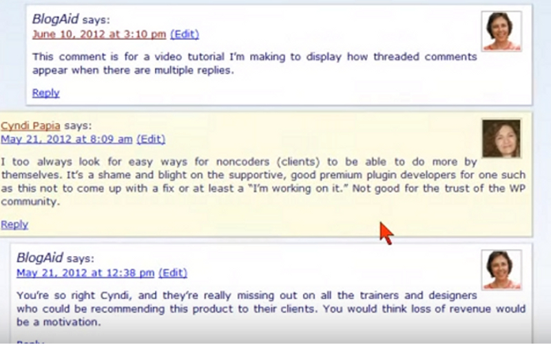 How to Add Wordpress Threaded Comments